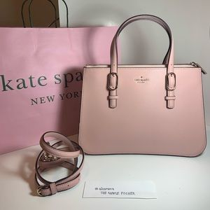 Kate Spade Met Triple Gussel Connie Rosycheeks Bag